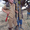 Me hunting in Africa