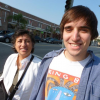 Me and my mom visiting my brother in LA