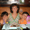 My daughters and I at a pub lunch at the Blue Pig in Cape May, NJ, last summer.