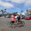 Me, and my girlfriend Michelle, after riding a tandem bike on Venice Beach last summer