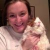 This is me with my darling guinea pig, Muffin. She knows she's fabulous.