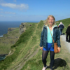 Here's me over the summer at the Cliffs of Moher in Ireland