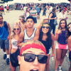 my friends and I lollapalooza 2014